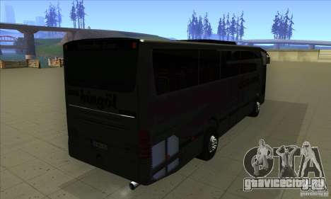 Mercedes-Benz Travego для GTA San Andreas вид справа