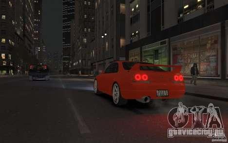 Nissan Skyline для GTA 4 вид изнутри