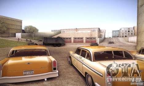Cabbie HD для GTA San Andreas вид справа