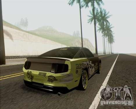 Ford Mustang Boss 302 для GTA San Andreas вид слева