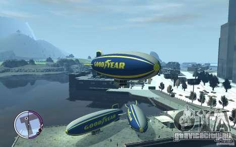 Дирижабль для GTA 4