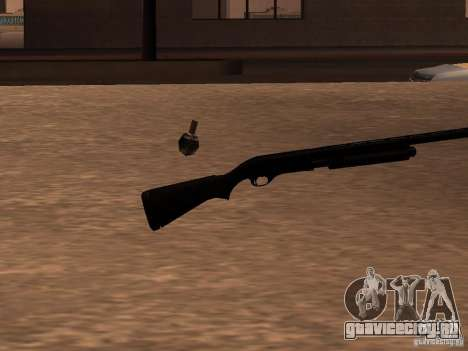 Remington 870 Action Express для GTA San Andreas второй скриншот