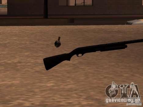 Remington 870 Action Express для GTA San Andreas второй скриншот