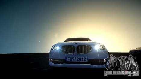 BMW GT F07 2012 GranTurismo для GTA 4 вид сзади
