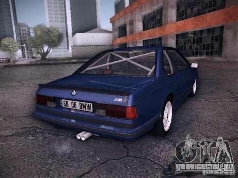BMW E24 M635CSi 1984 для GTA San Andreas вид слева