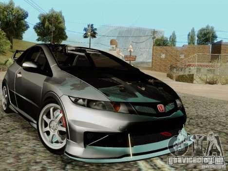 Honda Civic TypeR Mugen 2010 для GTA San Andreas салон