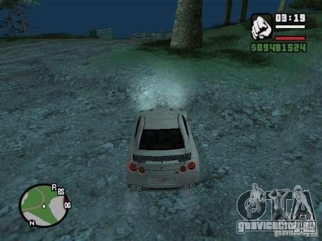 Nissan Skyline GTR для GTA San Andreas вид сбоку