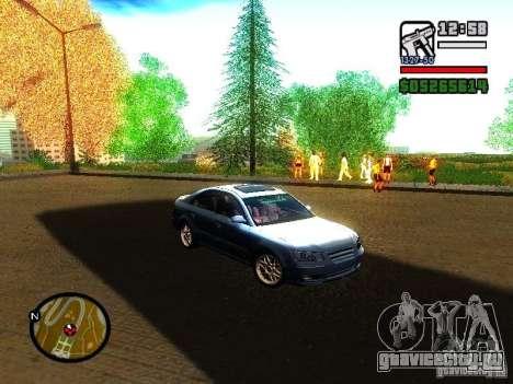2008 Hyundai Sonata для GTA San Andreas вид слева