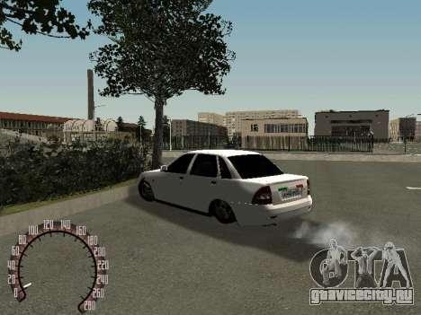 Lada Priora ВАЗ 2170 для GTA San Andreas вид справа