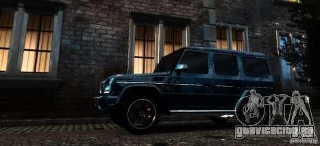 Mercedes-Benz G65 AMG [W463] 2012 для GTA 4 вид сбоку