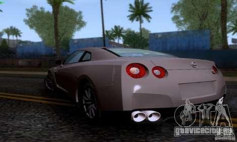 Nissan GTR R35 Tuneable для GTA San Andreas вид слева