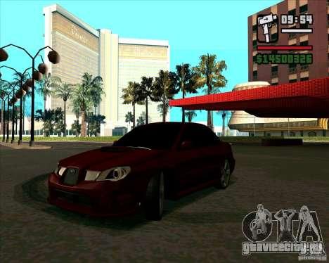 Subaru Impreza tuning для GTA San Andreas