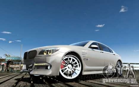 Меню и экраны загрузки BMW HAMANN в GTA 4 для GTA San Andreas девятый скриншот