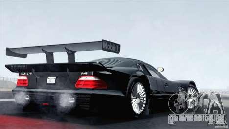 Mercedes-Benz CLK GTR Race Car для GTA San Andreas вид слева