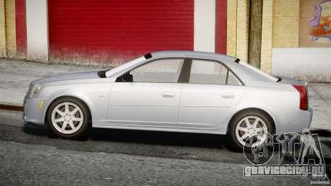 Cadillac CTS-V для GTA 4 вид изнутри