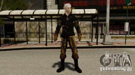 Геральт из Ривии v1 для GTA 4