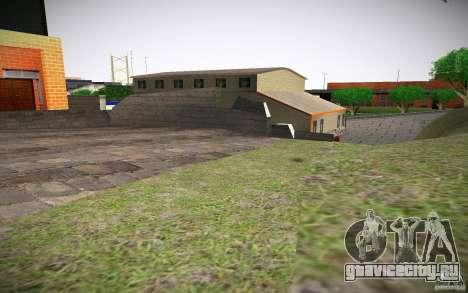 HD пожарная часть для GTA San Andreas пятый скриншот