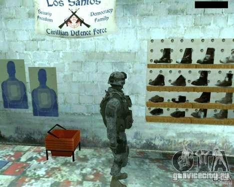 Скин пехотинца из CoD MW 2 для GTA San Andreas третий скриншот