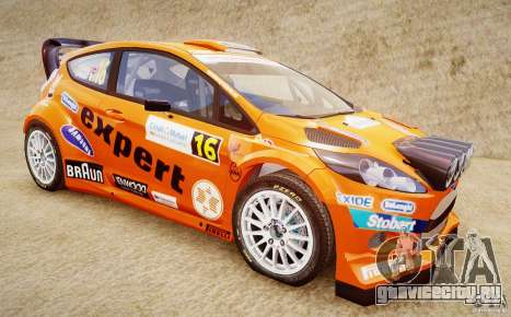 Ford Fiesta RS WRC для GTA 4