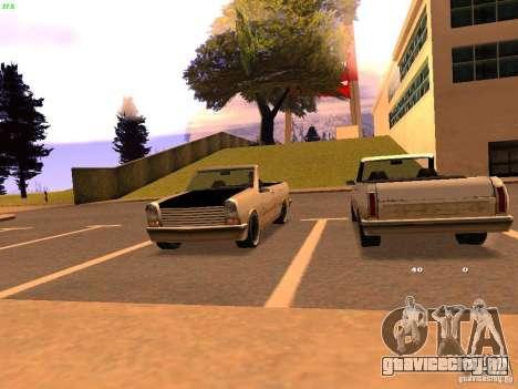 New Perennial для GTA San Andreas вид слева