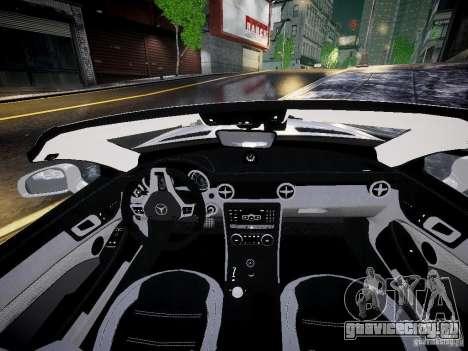 Mercedes SLK 2012 для GTA 4 вид справа