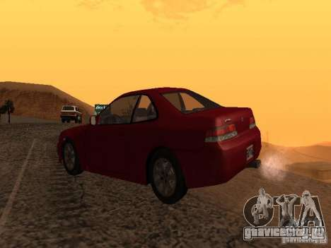 Honda Prelude Sport для GTA San Andreas вид слева
