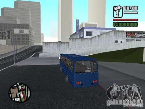 Ikarus 260.51 для GTA San Andreas вид сзади