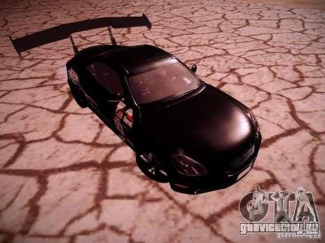 Lexus SC430 Daigo Saito для GTA San Andreas вид сзади