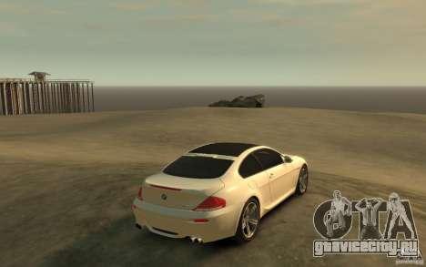 BMW M6 2010 v1.4 для GTA 4 вид справа
