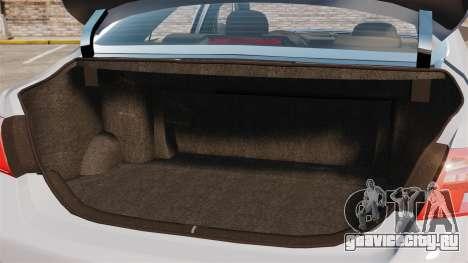 Toyota Camry Altise 2009 для GTA 4 вид сбоку