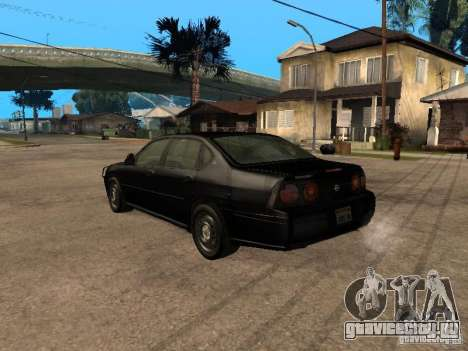 Chevrolet Impala Undercover для GTA San Andreas вид слева