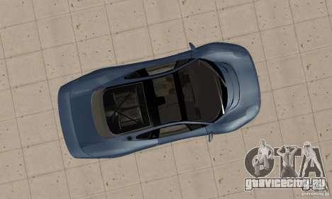 Jaguar XJ220 для GTA San Andreas вид справа