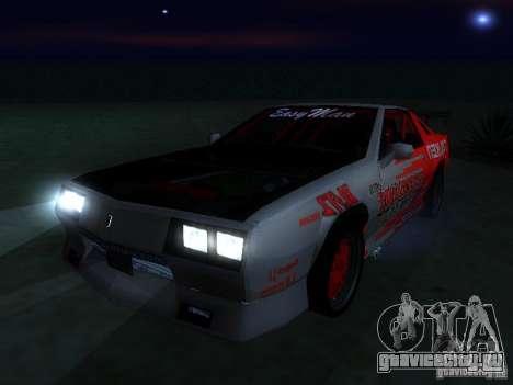 Buffalo DTM v2 для GTA San Andreas вид справа