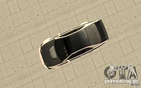 GTA IV Sultan RS FINAL для GTA San Andreas вид справа