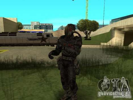 Долговец в костюме для GTA San Andreas третий скриншот