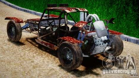 Buggy Avenger v1.2 для GTA 4 вид сзади слева