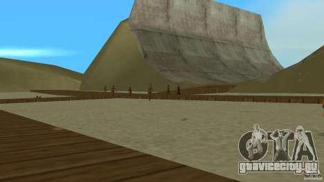 Vice City Beach-Park для GTA Vice City второй скриншот