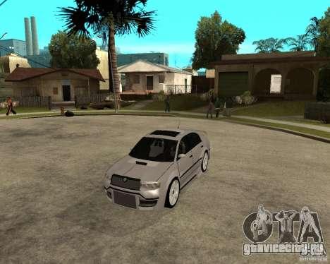 Skoda Superb Light Tuning для GTA San Andreas вид слева