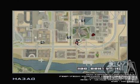 Заправка ТНК для GTA San Andreas четвёртый скриншот