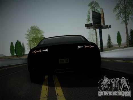 Lamborghini Estoque Concept 2008 для GTA San Andreas вид снизу