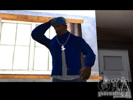 Piru Street Crips для GTA San Andreas третий скриншот