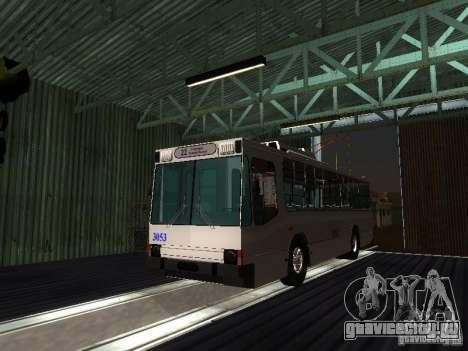ЮМЗ Т2 для GTA San Andreas вид сзади