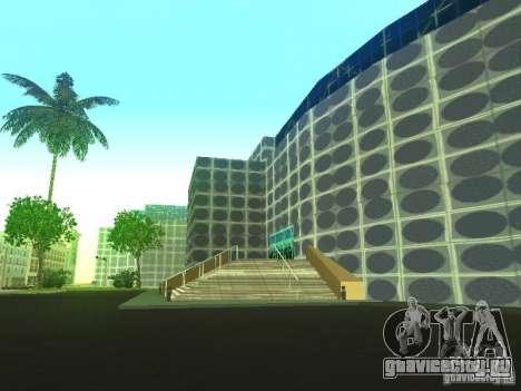 Новое здание в LS для GTA San Andreas пятый скриншот