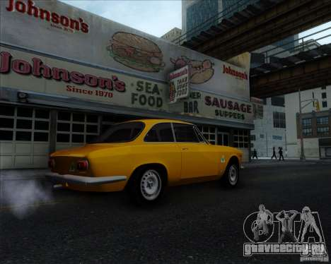 Alfa Romeo Giulia Sprint 1965 для GTA San Andreas вид справа