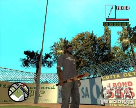 Кровавая бита для GTA San Andreas третий скриншот