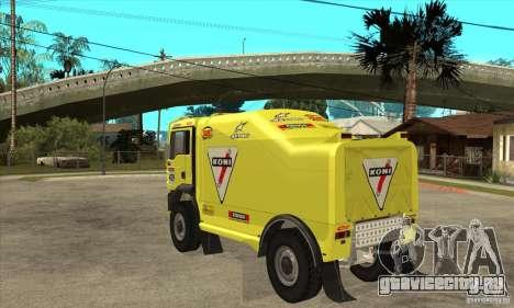 MAN TGA Rally OFFROAD для GTA San Andreas вид справа