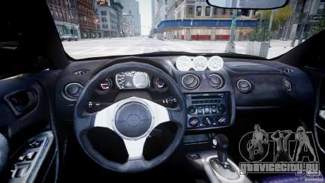 Mitsubishi Eclipse GTS Coupe для GTA 4 вид справа