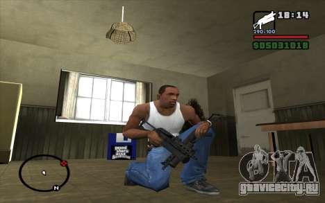 ПП-19 Бизон для GTA San Andreas третий скриншот