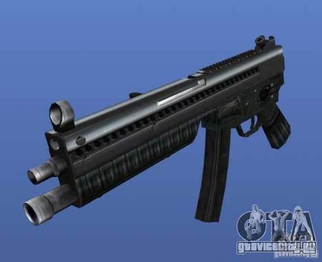 Heckler & Koch MP5 для GTA 4