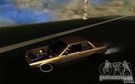 BMW E30 2.7T для GTA San Andreas вид слева
